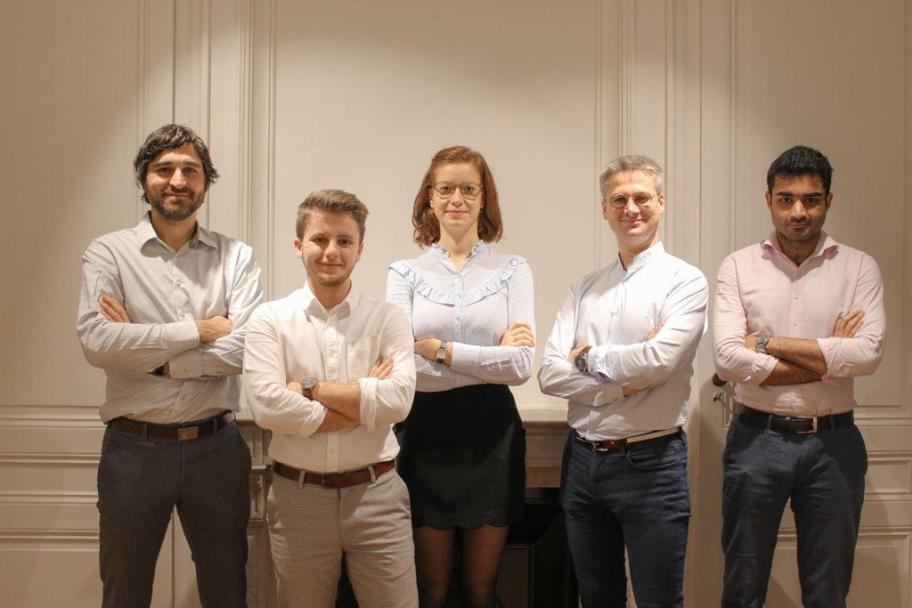 Equipe Alkemys dans leur bureaux à Lyon